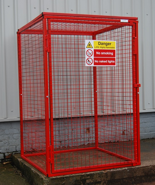Gas Bottle Storage Cages