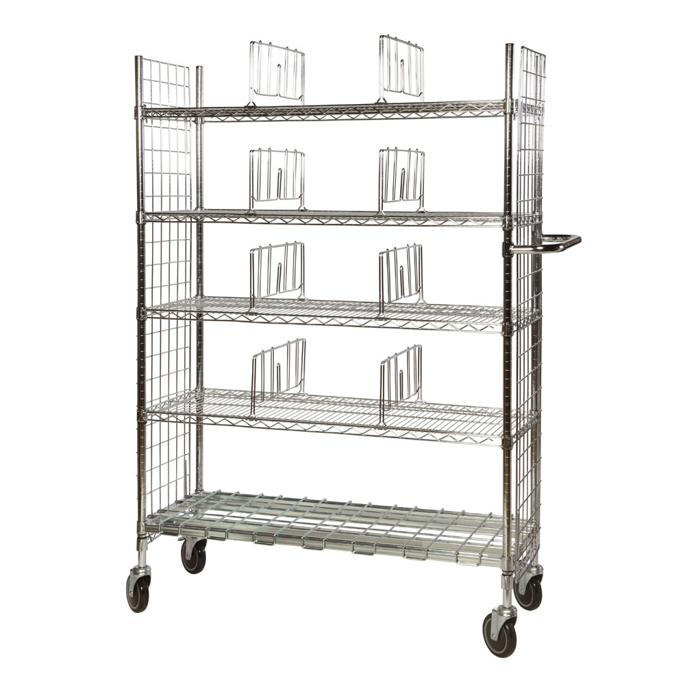 Chrome Wire Picking Trolleys