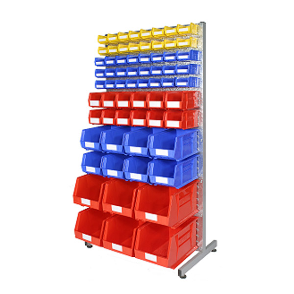 Floor Standing Bin Racks and Bin Trolleys