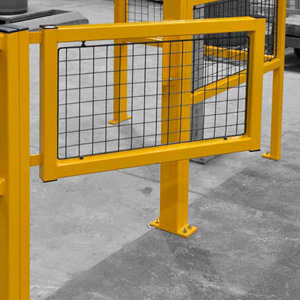 Fully Welded Barriers