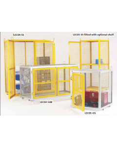 Liftable Cranage Eye Security Cages