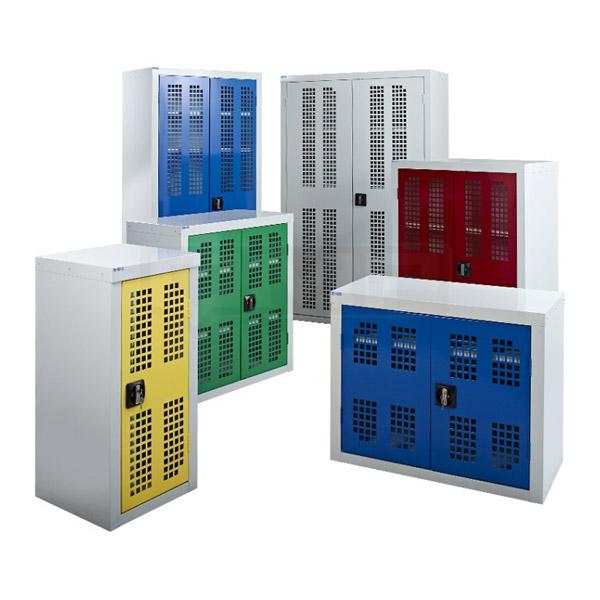Perforated Door Cupboards