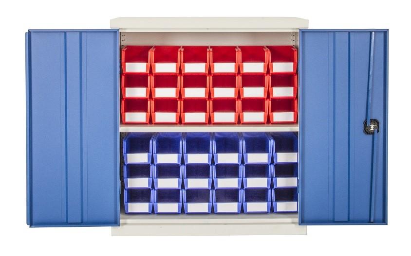 1015mm high Steel Cupboards with Doors