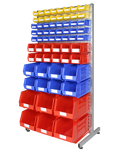 HPBBRA - Bin Rack inc. Storage Bins (A)