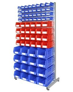 HPBBRB - Bin Rack inc. Storage Bins (B)
