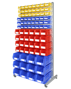 HPBBRC - Bin Rack inc. Storage Bins (C)