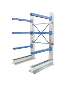 Single Sided Cantilever Racking - 1000mm wide