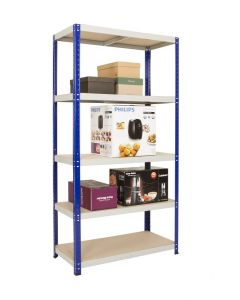 1770mm High Clicka Shelving - 175kg UDL per level