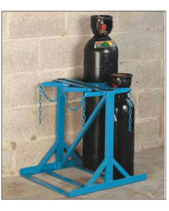 Low Height Cylinder Floor Stands