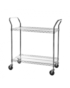 General Purpose Chrome Wire Trolleys