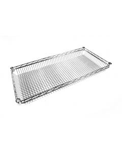 Chrome Wire Basket Shelf