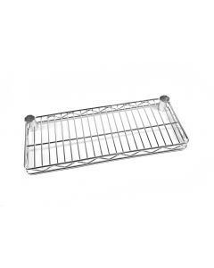 Chrome Wire End Shelf
