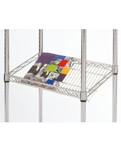 Chrome Wire 45 Degree Sloping Shelf