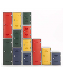 Extreme Plastic Lockers (Non Vented Doors)