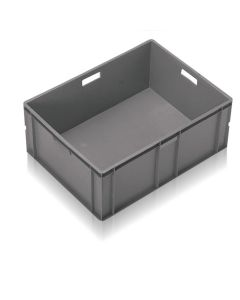 EC8060319S - Euro Container 800x600x319H (mm) Solid Base and Sides