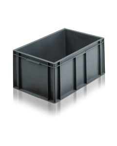 EC6040280S - Euro Container 600x400x280H (mm) Solid Base and Sides