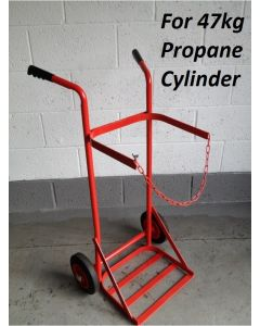 ESCT10 - Econ. Single Cylinder Trolley - 47kg Propane