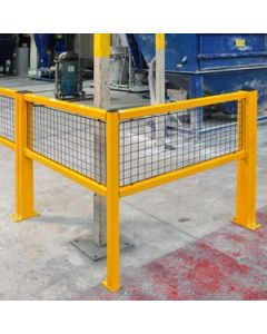 Fully Welded Barriers - Corner Barrier Units