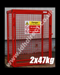 GAS10 1400H x 1000W x 500D (mm)