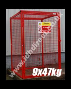 GAS30 - 1800H x 1200W x 1200D (mm)