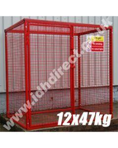 GAS40 - 1800H x 1800W x 1200D (mm)