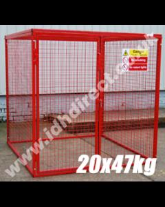GAS45 - 1800H x 1800W x 1800D (mm)