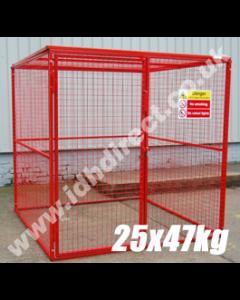 GAS50 - 2000H x 2000W x 2000D (mm)