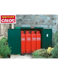 Solid Gas Cylinder Cabinets