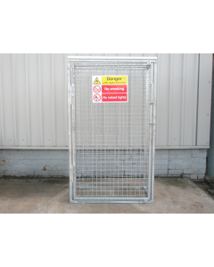 GALVANISED Mesh Gas Cylinder Storage Cages
