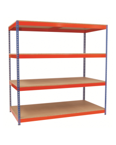 Heavy Duty Rivet Shelving (1830mm and 2135mm High)