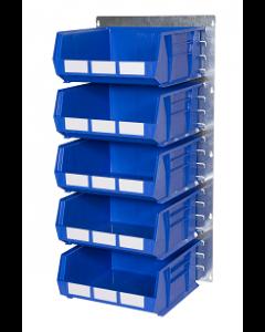 HPBWGP - 1000h x 500w 5 Bin Wall Kit