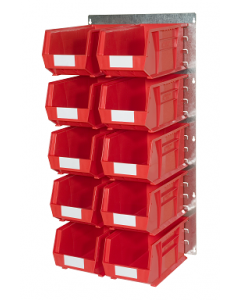 HPBWHP - 1000h x 500w 10 Bin Wall Kit