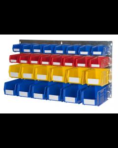 HPBWBL - 500h x 1000w 28 Bin Wall Kit
