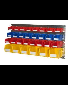 HPBWEL - 500h x 1000w 30 Bin Wall Kit