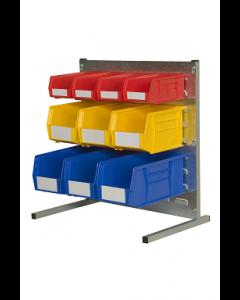 HPBBP - 500h x 500w 10 Bin Bench Kit
