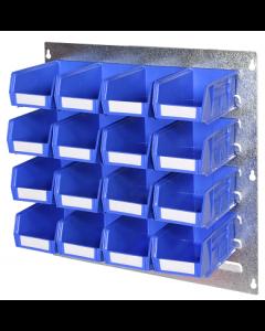 HPBWKT - 500h x 500w 16 Bin Wall Kit