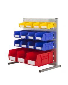 HPBBN - 500h x 500w 15 Bin Bench Kit