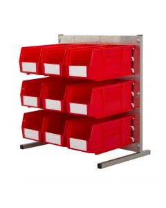 HPBBQ - 500h x 500w 9 Bin Bench Kit