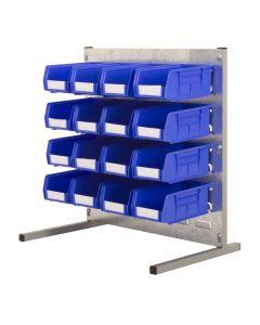 HPBBT - 500h x 500w 16 Bin Bench Kit