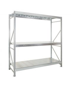 Galvanised Midispan Racking - Up to 6m high
