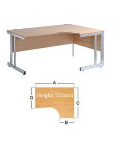 Momento Ergonomic Desk