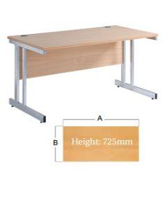 Momento Straight Desk