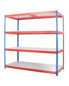 Heavy Duty Rivet Shelving with MFC Decks