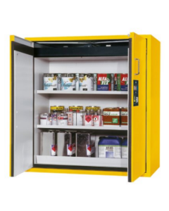 116cm wide, Warning Yellow, Pegasus Doors, Shelf Pack