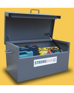 Van Box with Lid Open and Visible Tool Placement -  Product Dimensions: 1035mm wide x 585mm deep x 475mm high