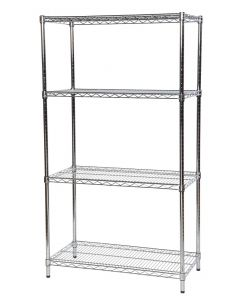 Stainless Steel Wire Shelving Bays