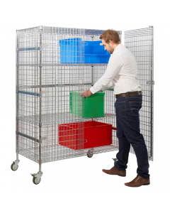 Value Chrome Wire Distribution Truck / Mobile Security Cage