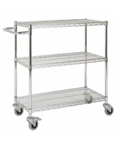 ESDTRK3 - 3 Tier Trolley with Anti-Static Castors - 970h x 915w x 610d