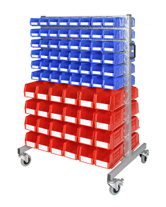 HPBTYA - Bin Trolley inc. Storage Bins (A)