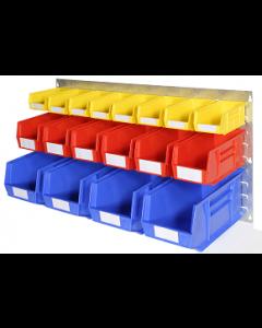 HPBWCL - 500h x 1000w 18 Bin Wall Kit